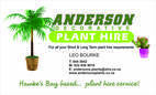 Anderson Decorative Plant Hire Ltd