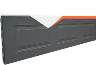 Pressed Panel Colorsteel Sectional Door